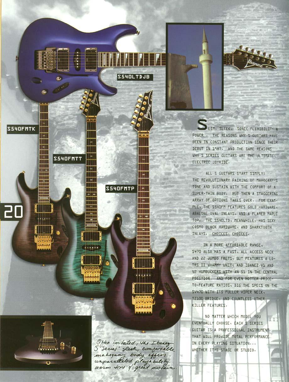 Ibanez Rules 1995 US Catalog